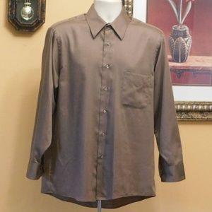 Geoffrey Beene Sateen Dress Shirt
